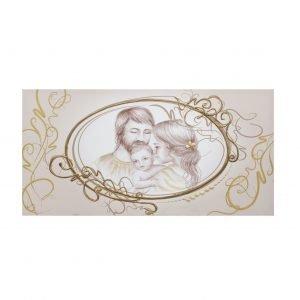 Quadro sacra famiglia vintage oro for Sacra famiglia quadri moderni