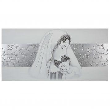 quadro capezzale per camera da letto su tela cotone maternità
