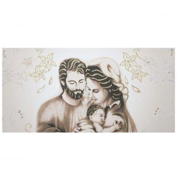 quadro capezzale tela d'arredo Sacra Famiglia