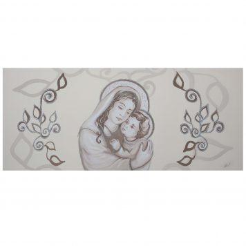 capezzale camera da letto classico Maternità argento