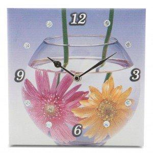 orologio fiori acquario