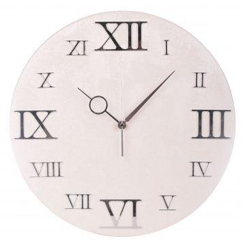orologio da muro ecopelle cassiopea