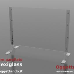 parafiato-parasputi plexiglass