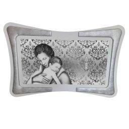 Quadro Maternità Ghirigori Argento